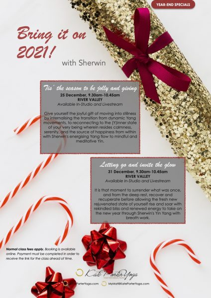 Sherwin year end classes