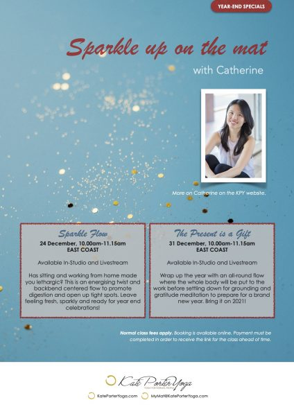 Catherine year end classes
