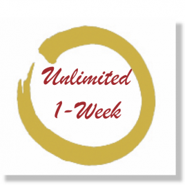 Unlimited 1-Week Package of Classes